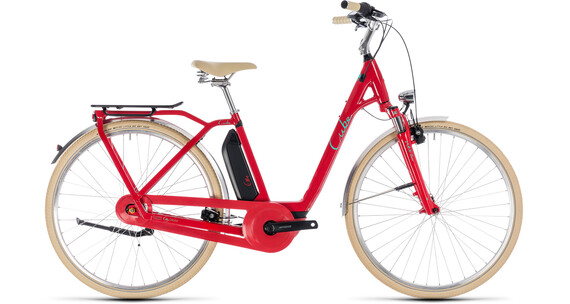Cube Elly Cruise Hybrid 500 Easy Entry Red'n'Mint